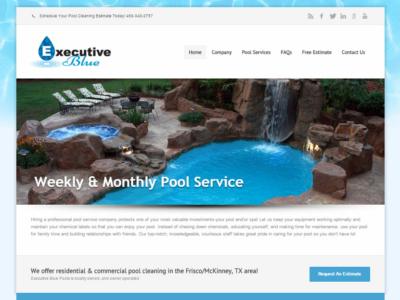 Executive Blue Pools