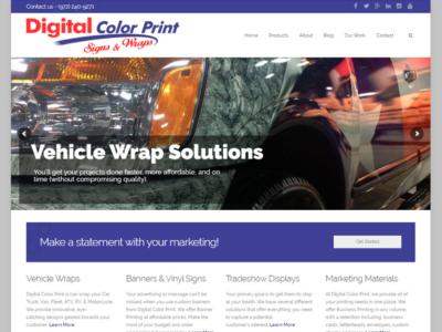 Digital Color Print