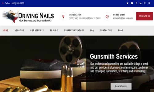 Driving Nails Gunsmithing