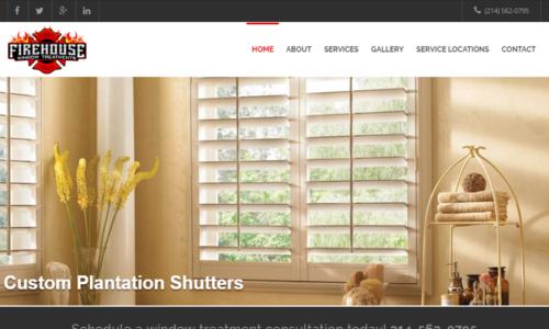 Firehouse Window Treatments