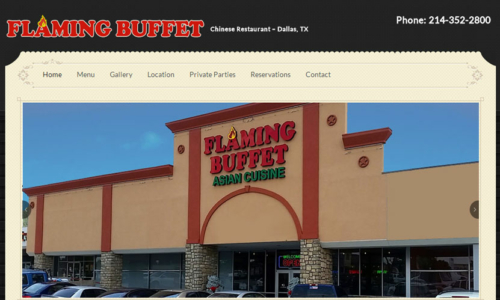 Flaming Buffet