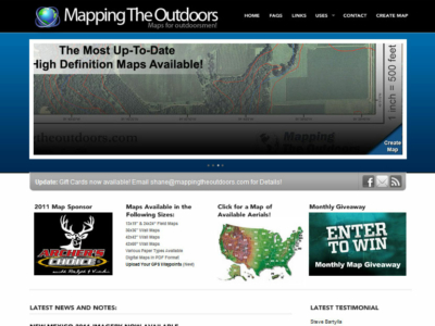 Mapping The Outdoors