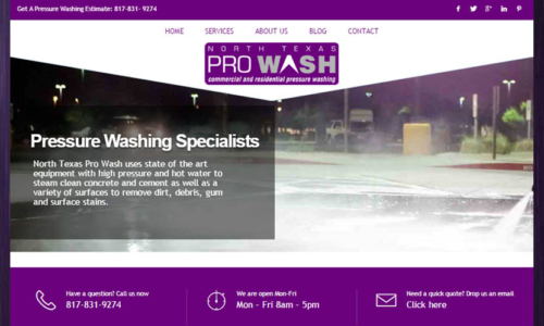 North Texas Pro Wash