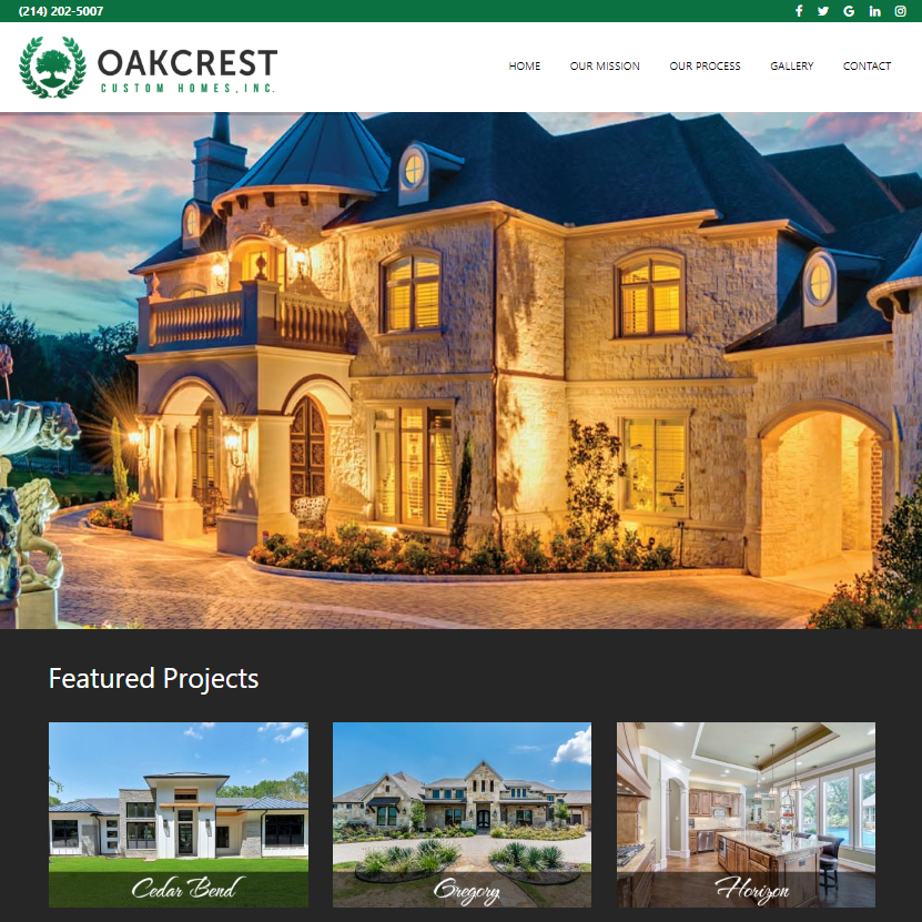 OakCrest Custom Homes
