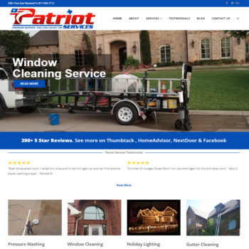Patriot Services Pressure Washing