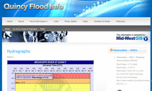 Quincy Flood info