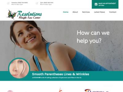 Resolutions Weight Loss