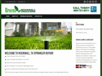 Graves Rockwall Sprinkler Repair