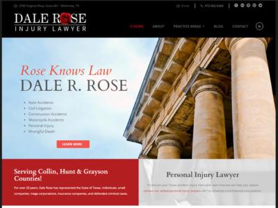 Dale Rose Injury Lawyer