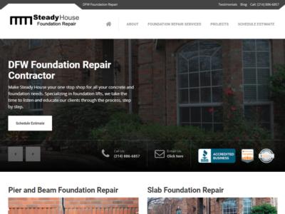 Steady House Foundation Repair