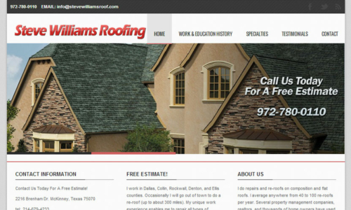Steve Williams Roofing
