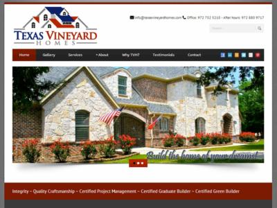 Texas Vineyard Homes