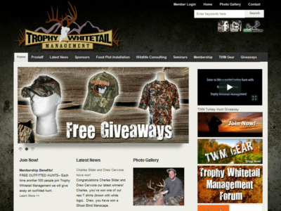 Trophy Whitetail Management
