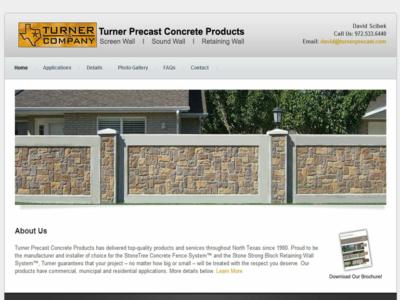 Turner Precast Concrete