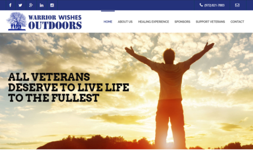 Warrior Wishes Outdoors