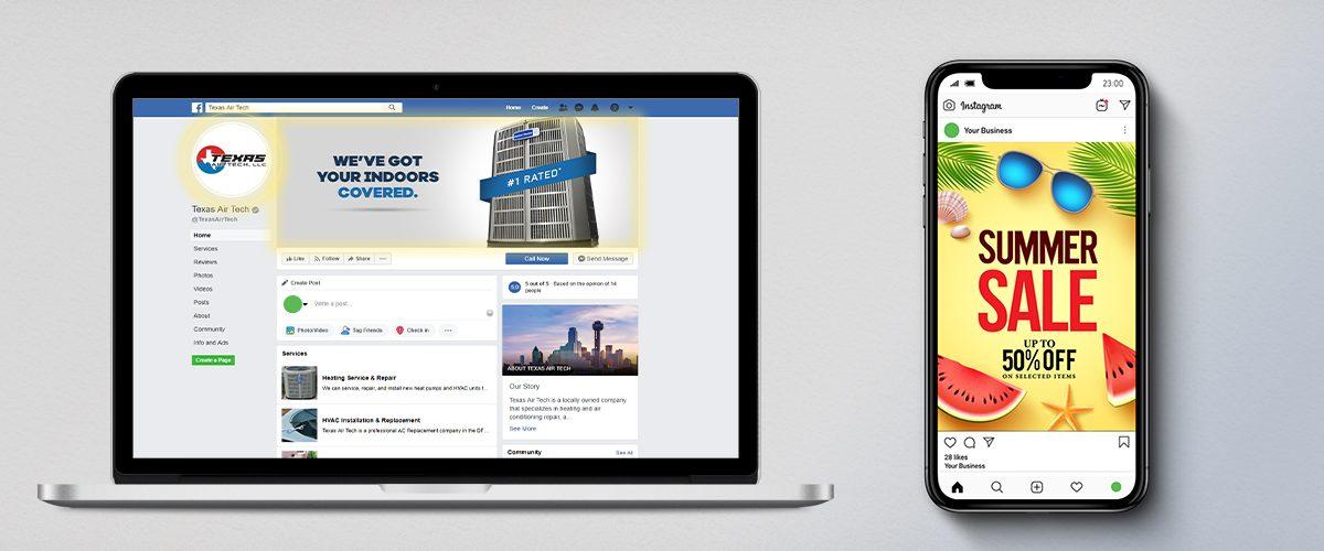 Social Media Marketing Design