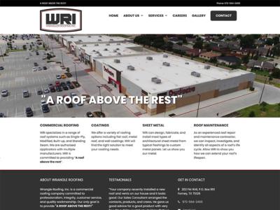 Wrangler Roofing