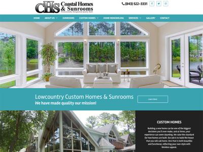 Coastal Homes & Sunrooms