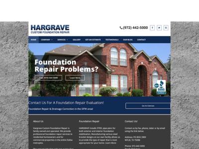 Hargrave Foundation Repair