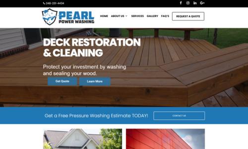 Pearl Power Washing